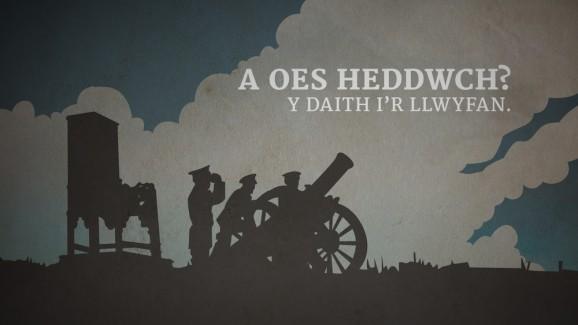 A Oes Heddwch? Y Daith i'r Llwyfan