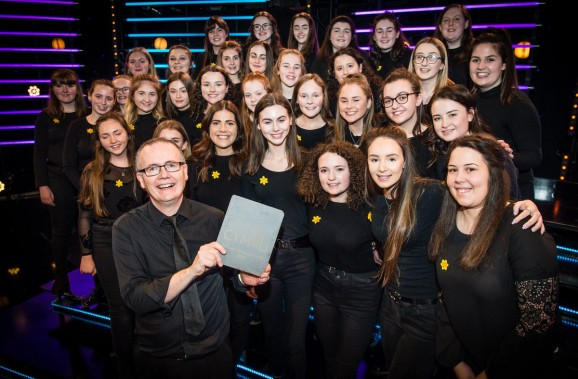 Ysgol Gerdd Ceredigion wins prestigious S4C Choir competition to earn Eurovision glory bid